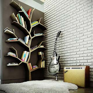 casain3mosse - tree bookshelf