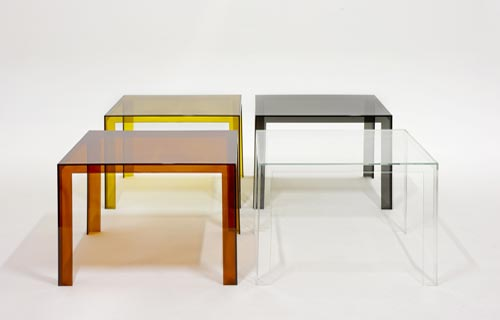 casain3mosse - invisible table kartell